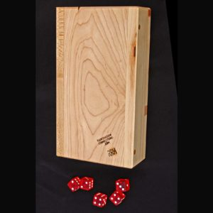 dice-tower back + dice