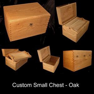 Handmade Oak Chest