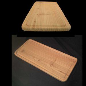 Oven roasting plank - cedar