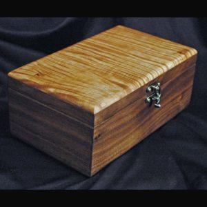tea packet box-Handmade wood